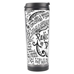 Panic! At The Disco Lyric Quotes Travel Tumbler by Samandel