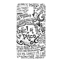 Panic! At The Disco Lyric Quotes Samsung Galaxy Note 3 N9005 Hardshell Back Case by Samandel