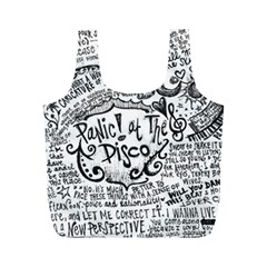 Panic! At The Disco Lyric Quotes Full Print Recycle Bags (m)  by Samandel