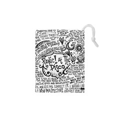 Panic! At The Disco Lyric Quotes Drawstring Pouches (xs)  by Samandel