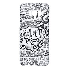 Panic! At The Disco Lyric Quotes Samsung Galaxy S8 Plus Hardshell Case  by Samandel