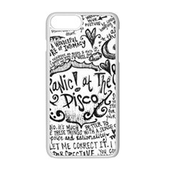 Panic! At The Disco Lyric Quotes Apple Iphone 8 Plus Seamless Case (white) by Samandel