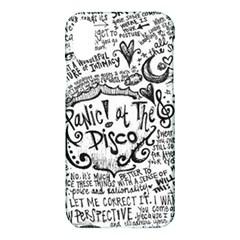 Panic! At The Disco Lyric Quotes Apple Iphone X Hardshell Case by Samandel