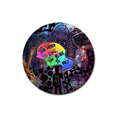 Panic! At The Disco Galaxy Nebula Rubber Round Coaster (4 Pack)
