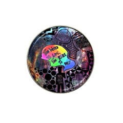 Panic! At The Disco Galaxy Nebula Hat Clip Ball Marker (10 Pack)