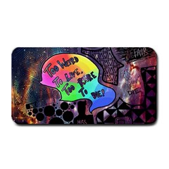 Panic! At The Disco Galaxy Nebula Medium Bar Mats by Samandel