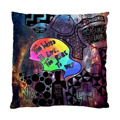 Panic! At The Disco Galaxy Nebula Standard Cushion Case (two Sides) by Samandel