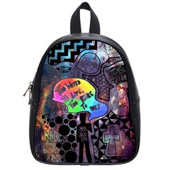 Panic! At The Disco Galaxy Nebula School Bag (small) by Samandel