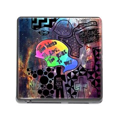 Panic! At The Disco Galaxy Nebula Memory Card Reader (square)