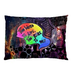 Panic! At The Disco Galaxy Nebula Pillow Case (two Sides) by Samandel
