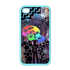 Panic! At The Disco Galaxy Nebula Apple Iphone 4 Case (color)