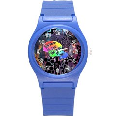 Panic! At The Disco Galaxy Nebula Round Plastic Sport Watch (s)