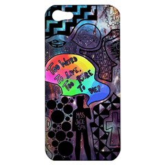 Panic! At The Disco Galaxy Nebula Apple Iphone 5 Hardshell Case by Samandel