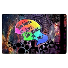 Panic! At The Disco Galaxy Nebula Apple Ipad 3/4 Flip Case by Samandel