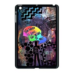 Panic! At The Disco Galaxy Nebula Apple Ipad Mini Case (black) by Samandel