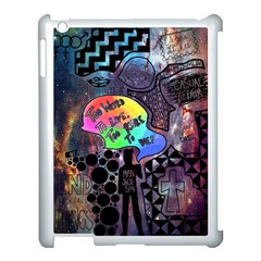 Panic! At The Disco Galaxy Nebula Apple Ipad 3/4 Case (white) by Samandel