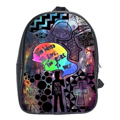 Panic! At The Disco Galaxy Nebula School Bag (xl)