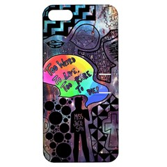 Panic! At The Disco Galaxy Nebula Apple Iphone 5 Hardshell Case With Stand by Samandel