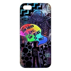 Panic! At The Disco Galaxy Nebula Apple Iphone 5 Premium Hardshell Case