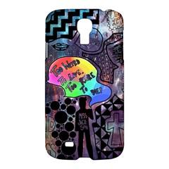 Panic! At The Disco Galaxy Nebula Samsung Galaxy S4 I9500/i9505 Hardshell Case by Samandel