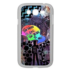 Panic! At The Disco Galaxy Nebula Samsung Galaxy Grand Duos I9082 Case (white) by Samandel