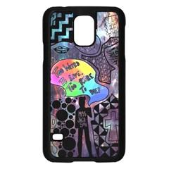 Panic! At The Disco Galaxy Nebula Samsung Galaxy S5 Case (black)