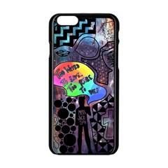 Panic! At The Disco Galaxy Nebula Apple Iphone 6/6s Black Enamel Case