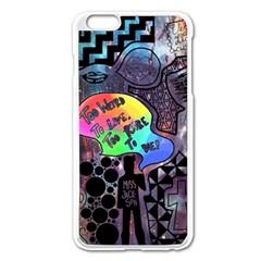 Panic! At The Disco Galaxy Nebula Apple Iphone 6 Plus/6s Plus Enamel White Case by Samandel