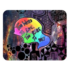 Panic! At The Disco Galaxy Nebula Double Sided Flano Blanket (large)  by Samandel