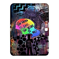 Panic! At The Disco Galaxy Nebula Samsung Galaxy Tab 4 (10 1 ) Hardshell Case  by Samandel