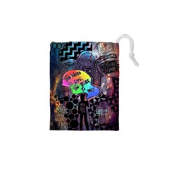 Panic! At The Disco Galaxy Nebula Drawstring Pouches (xs)  by Samandel