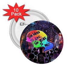 Panic! At The Disco Galaxy Nebula 2 25  Buttons (10 Pack)