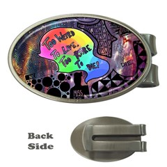 Panic! At The Disco Galaxy Nebula Money Clips (oval)