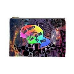 Panic! At The Disco Galaxy Nebula Cosmetic Bag (large)