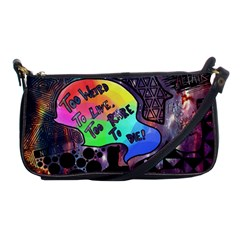 Panic! At The Disco Galaxy Nebula Shoulder Clutch Bags