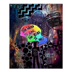 Panic! At The Disco Galaxy Nebula Shower Curtain 60  X 72  (medium)