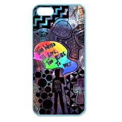 Panic! At The Disco Galaxy Nebula Apple Seamless Iphone 5 Case (color) by Samandel