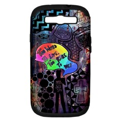 Panic! At The Disco Galaxy Nebula Samsung Galaxy S Iii Hardshell Case (pc+silicone) by Samandel