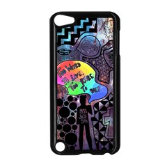 Panic! At The Disco Galaxy Nebula Apple Ipod Touch 5 Case (black)