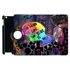 Panic! At The Disco Galaxy Nebula Apple Ipad 3/4 Flip 360 Case by Samandel