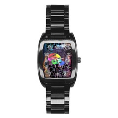 Panic! At The Disco Galaxy Nebula Stainless Steel Barrel Watch