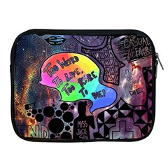 Panic! At The Disco Galaxy Nebula Apple Ipad 2/3/4 Zipper Cases by Samandel