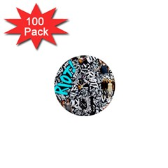 Panic! At The Disco College 1  Mini Magnets (100 Pack)