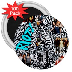 Panic! At The Disco College 3  Magnets (100 Pack)