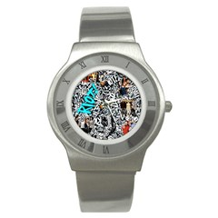 Panic! At The Disco College Stainless Steel Watch by Samandel