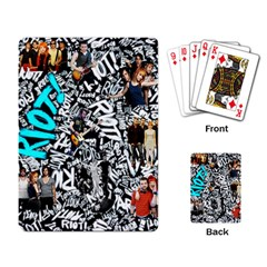 Panic! At The Disco College Playing Card by Samandel