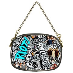 Panic! At The Disco College Chain Purses (one Side)  by Samandel