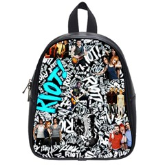 Panic! At The Disco College School Bag (small) by Samandel