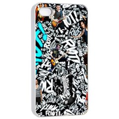 Panic! At The Disco College Apple Iphone 4/4s Seamless Case (white)