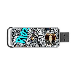 Panic! At The Disco College Portable Usb Flash (two Sides) by Samandel